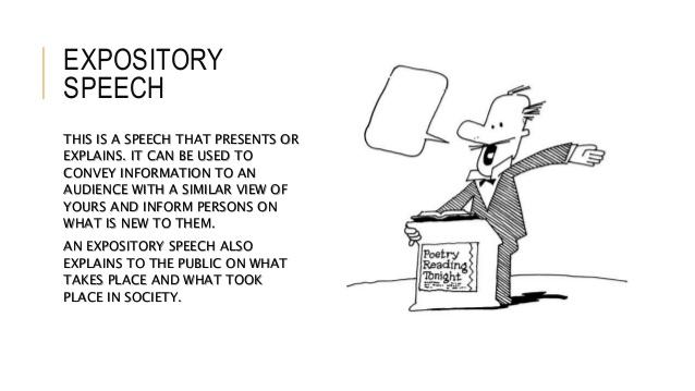 expository speech